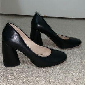 Louise et Cie round toe block heels 7
